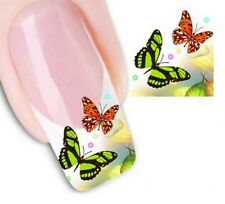 Nail Art Sticker Water Decals Transfer Stickers Decorative Butterflies (DX1320)