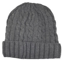 Cuffed Beanie Knit Winter Sweater Hat-charcoal gray(thermal insulation)