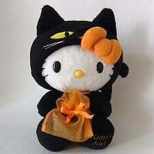 "Cute ! HELLO KITTY x GODIVA * HALLOWEEN Plush Toy Doll 10""(26 cm)* SANRIO 2013"