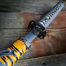 "40"" Tiger Dragon SAMURAI NINJA Bushido Katana Japanese Sword Carbon Steel Blade"
