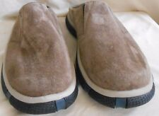 CAT Marine Power USA.12 M. Brown Suede Slip-on Shoe Black Rubber Sole