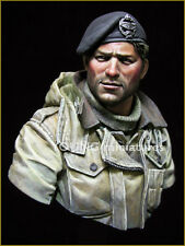 Young Miniatures British Tank Crew WW2 1/10th Bust YM1835 Unpainted kit
