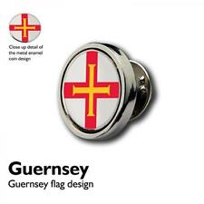Guernsey Lapel Pin Badge Channel Island Present GIFT BOX