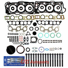 3.4L TOYOTA 4RUNNER TACOMA T100 TUNDRA ENGINE FULL GASKET SET+BOLTS 5VZFE 95-04