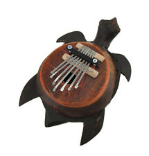 Hand Carved Sea Turtle Thumb Piano Karimba