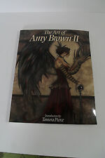 THE ART of AMY BROWN II - Tamora Pierce -FAIRIES -Softcover - Ist EDITION -2005