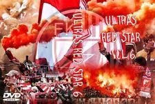 DVD ULTRAS RED STAR VOLUME 6 (ROTER STERN,DELIJE,CRAZY BOYS,BELGRADO,BEOGRAD)