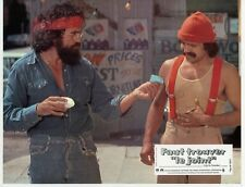 CHECH MARIN TOMMY CHONG UP IN SMOKE 1978 7 VINTAGE LOBBY CARDS LOT MARIJUANA