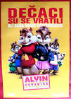 ALVIN AND THE CHIPMUNKS 2 THE SQUEAKQUEL 2009 UNIQUE SERBIAN MOVIE POSTER