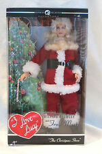 I LOVE LUCY Mattel Barbie Doll THE CHRISTMAS SHOW Santa Fred