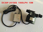 24V DC Micro Solar Water Circulation Pump 50F-24150S 1560LPH 15M Brushless 86.4W