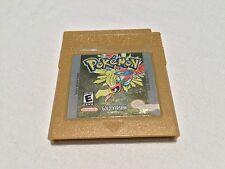 Pokemon: Gold Version (Nintendo GameBoy) GB Game Cartridge Nice!