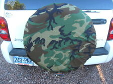US Army Woodland Camo Alice LC II Rucksack Pack Cover or Jeep Spare Tire Cover