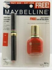 Maybelline Great Lip Lip Color- Red+ Great Finish Nail Polish - Red Alert