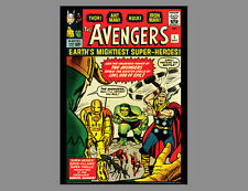 POSTER: THE AVENGERS #1 (Sept. 1963) Marvel Comics Cover POSTER Print