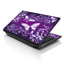 """13.3"""" 15.6"""" 16"""" Laptop Skin Sticker Notebook Decal Purple Butterfly M-2697"""