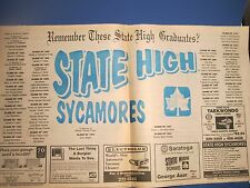 Vintage Rare Terre haute Tribune Star Remember Indiana State High Oct, 25 1991