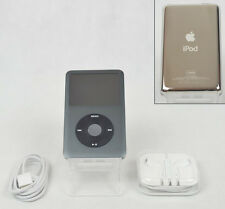 Apple iPod Classic 7th Generation Black (120 GB A1238) w/ SSD Solid State Drive