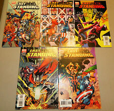 LAST HERO STANDING 1 2 3 4 5 SET COMICS THOR SPIDERMAN MARVEL COMICS HULK