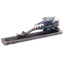Gothic Ice Dragon Ash Catcher with Celtic Detail Incense Stick Holder