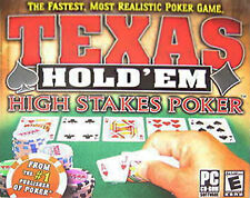 Texas Hold 'Em: High Stakes Poker (PC, 2005) SHIPS FREE - $8.95