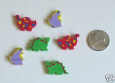 36 Dinosaur Dino Mini Erasers Kid Party Goody Loot Gift Bag Filler Favor Supply