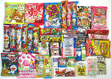42pcs Japanese Candy Snacks Sweets Dagashi Okashi Cute & Delicious Food Sampling