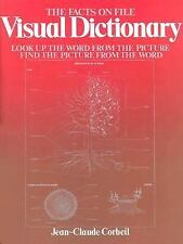 The Facts on File Visual Dictionary by Jean-Claude Corbeil (1986, Hardcover)