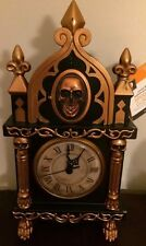 Animated Halloween Props Haunted Coo Coo Clock Skeleton Skull Raven Time Crow