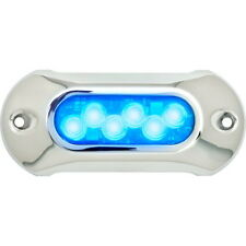 Light Armor Blue Low Profile Underwater LED Light for Boats - 1,650 Lumens