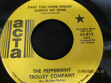 Baby You Come Rollin Across My Mind & 9 O'Clock Business Man - Trolley Co.-45RPM