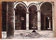 Firenze - cortile di Palazzo Vecchio [grande, b/n, non viaggiata]