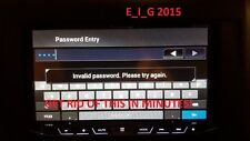 Pioneer F SERIES AVIC-F930BT F920BT F9310BT F30BT F20BT Password Removal Unlock