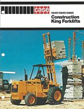 Fork Lift Truck Brochure - Case - 584C 585C 586C Construction King (LT274)