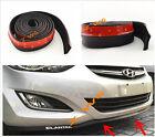 """2""""x98"""" BUMPER LIP SPLITTER BODY SPOILER VALENCE CHIN KIT Fit For: honda Toyota"""