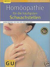 Homöopathie für die häufigsten Schwachstellen, GU, Katrin Reichelt 9783833821219