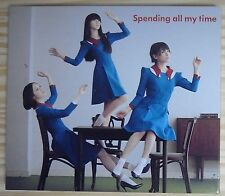 PERFUME / SPENDING ALL MY TIME CD + DVD LIMITED【 JAPAN W/CASE 】IDOL TECHNO POP