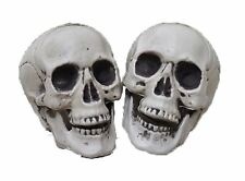 Small Gothic Skull Bones Skeleton Halloween Realistic Party Punk Prop Toy Horror