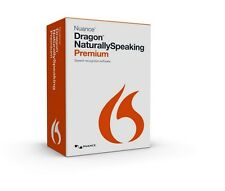Nuance Dragon Naturally Speaking Premium 13 - Includes Microphone - Boxed