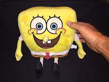"Spongebob Squarepants Soft Stuffed Plush Doll Toy Gift 9"" 23cm Smiling Used"
