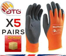 5X ATG MaxiTherm 30-201 Palm Coated Cold Temperature work gloves – Orange 9 L