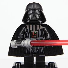 Darth Vader Custom Lego Minifigure  Star Wars Building Toy Mini Figure