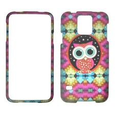 Colorful Owl Samsung Galaxy S5 / S 5 i9600 Cover Case Hard Phone Case