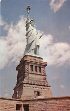 New York harbor Statue of Liberty symbol of freedom