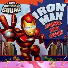 Super Hero Squad: Iron Man Springs Into Action! (Marvel Super Hero Squad (LB Kid