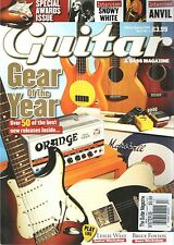 Guitar & Bass Magazine UK Winter Special 2009 Gear of the Year Snowy White Anvil