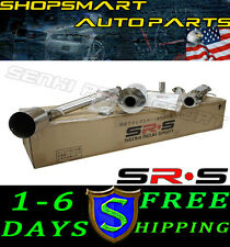 SRS TYPE-R1 CATBACK MUFFLER EXHAUST SYSTEM 00-04 FORD FOCUS 2.0L ZX3 00 01 02