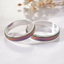 1PC Amazing Change Color Temperature Mood Rings Emotional Feeling Band Size7.5