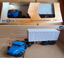 URAL 44202 CONTAINER CARRIER- 1/43 DIECAST MODEL BY ELECON  -BRAND NEW! BOX