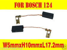 Carbon Brushes For Bosch 124 Rotary hammer GBH4DSC 5X10X17.2mm 1 617 014 124 AU